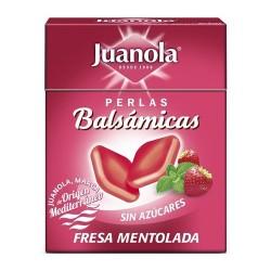 JUANOLA PERLAS BALSAMICAS FRESA MENTOLAD