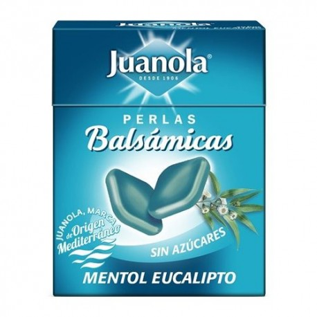 JUANOLA PERLAS BALSAMICAS MENTOL EUCALIP