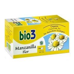 BIO 3 MANZANILLA FLOR ECOLOGICA 25 FILTR