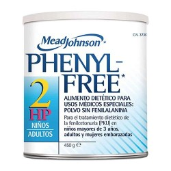 PHENYL FREE 2 HP POLVO 450 G.