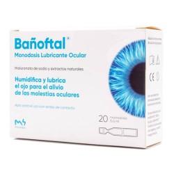 Bañoftal Lubricante Ocular 20 Monodosis 0,4 ml.