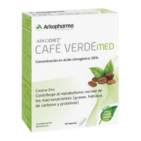 ARKODIET CAFE VERDE 800 30 CAPSULAS
