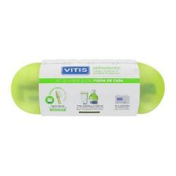 Vitis Kit Orthodontic Cepillo + Pasta + Colutorio + Seda Dental