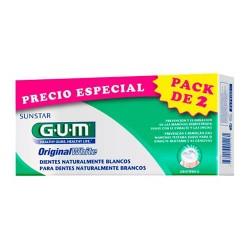 GUM DUO PACK ORIGINAL WHITE PASTA 2 X 75 ML