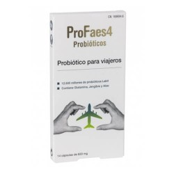 PROFAES 4 PROBIOTICO VIAJEROS 14 CAP.