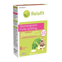 RELAFIT MS GLUCOMANANO 30 CAPSULAS