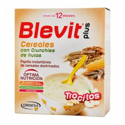 BLEVIT PLUS TROCITOS CER CRUNCHIES FRUTA 600GR