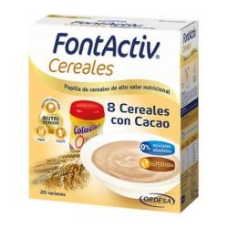 FONTACTIV 8 CEREALES CACAO 600 GR