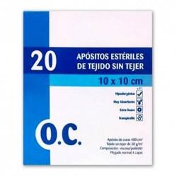 OC COMPRESA ESTERIL TEJIDO S/TEJ 10X10 20U