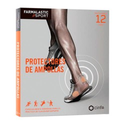 FARMALASTIC SPORT PROTECTORES AMPOLLAS T-UNIC