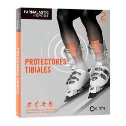 FARMALASTIC SPORT PROTECTORES TIBIALES 2UDS