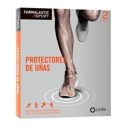 FARMALASTIC SPORT PROTECTORES UÑAS TALLA S