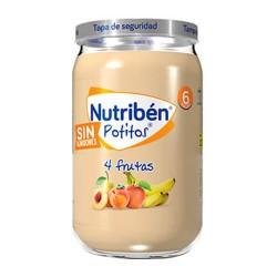 Nutribén Potitos 4 Frutas Sin Almidones 235 gr.