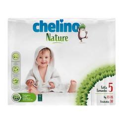 Chelino Nature Pañal 13-18 kg. Talla 5 30 Unidades