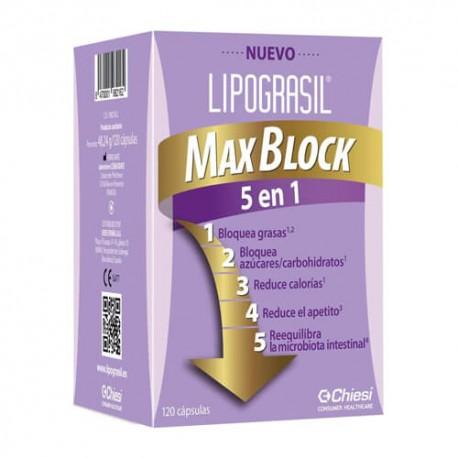 Lipograsil Max Block 5 en 1 120 Cápsulas