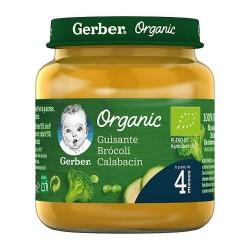 Nestlé Gerber Organic Guisante Brócoli Calabacín 125 gr.