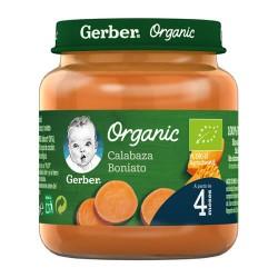 Nestlé Gerber Organic Calabaza Boniato 125 gr.