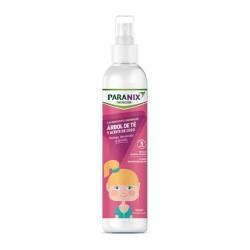 Paranix Protección Spray Acondicionador Niña Árbol de Té y Aceite de Coco 250 ml.