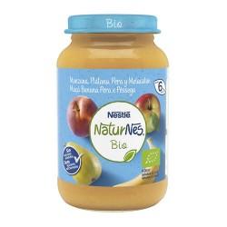 Nestlé NaturNes Bio Manzana Plátano Pera Melocotón 190 gr.