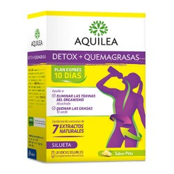 Aquilea Detox + Quemagrasas 10 Sticks Bebibles