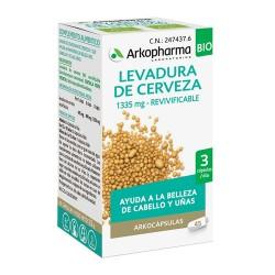 Arkopharma Levadura de Cerveza 1335 mg. Revivificable 45 Cápsulas