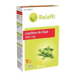 RELAFIT MS LECITINA DE SOJA 540 MG 30 PERLAS