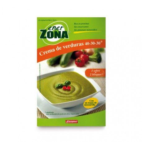Enerzona Crema de Verduras 40-30-30 4 Sobres