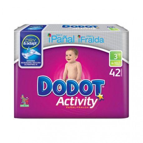 Pañal Dodot Activity T3 42 Unidades