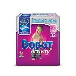 Pañal Dodot Activity T5 32 Unidades