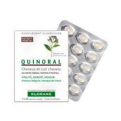 Klorane Quinoral 60 Cápsulas