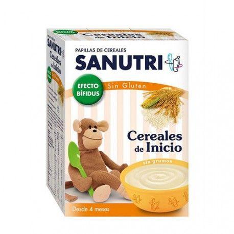 Sanutri Cereales Sin Gluten Efecto Bífidus