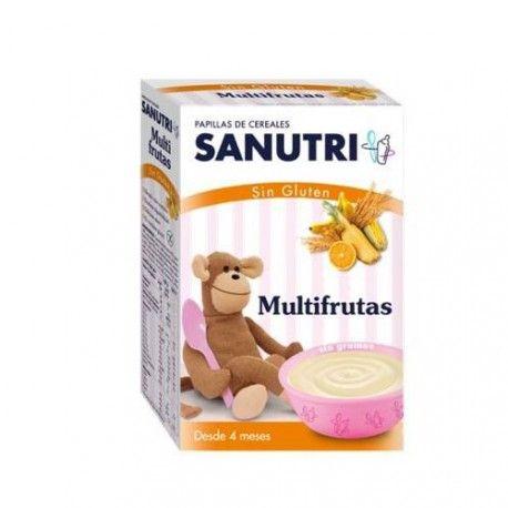 Sanutri Cereales Multifruta Sin Gluten