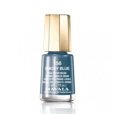 Mavala Esmalte de Uñas 158 Smoky Blue 5 ml.