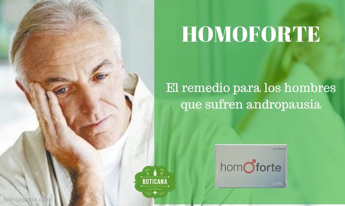 homoforte andropausia boticana